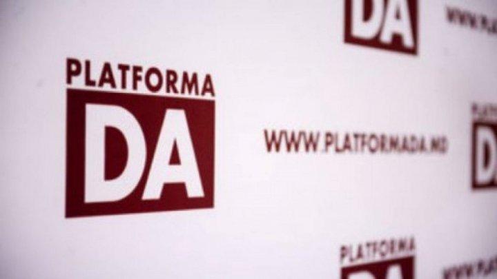 Platforma DA se pregătește de alegeri anticipate. Formațiunea a depus o sesizare la Comisia Electorală Centrală