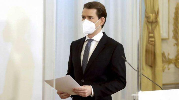 La o zi după ce protestatari anti-restricții au manifestat la Viena, Austria prelungește lockdown-ul și în februarie