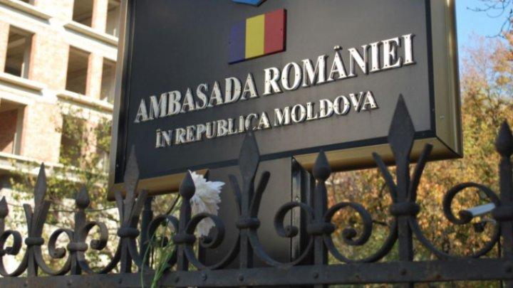 Anunţul Ambasadei României la Chişinău privind depunerea jurământului de credinţă față de România