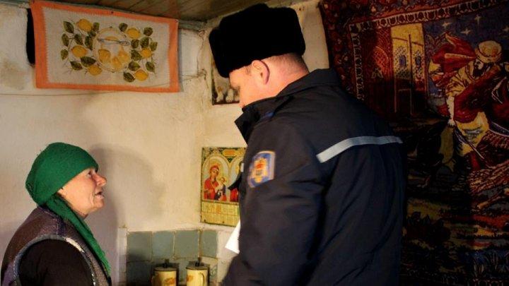 32 de mii de case de locuit din Moldova, verificate de pompieri de la începutul sezonului rece