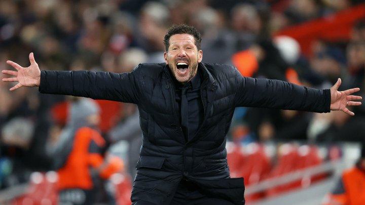 Tehnicianul lui Atletico Madrid, Diego Simeone, a fost ales antrenorul deceniului