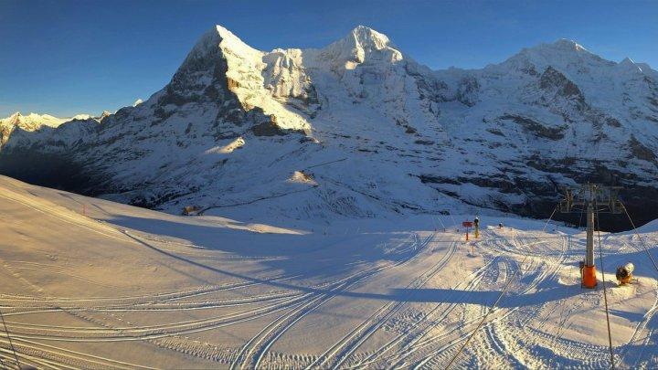 O celebră cursă de schi din Elveția, anulată din cauza unui turist britanic