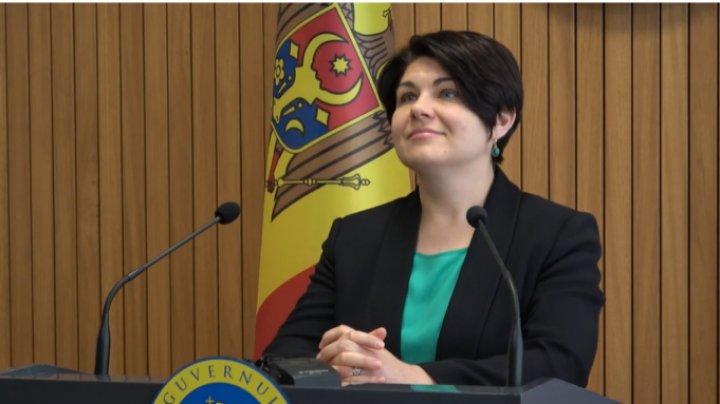 Gavriliţa: Sunt onorată că am fost desemnată în calitate de candidat la funcţia de prim-ministru