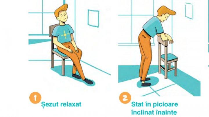 Sfaturi utile: Poziții și exerciții pentru respirație ușoară după COVID-19 (VIDEO)