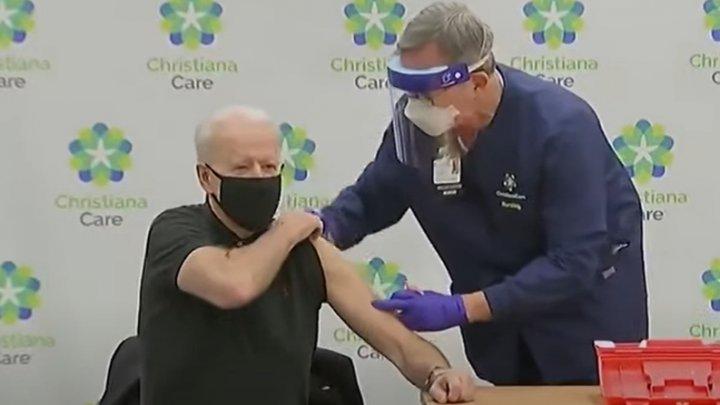 Biden a primit a doua doză a vaccinului anti-COVID-19