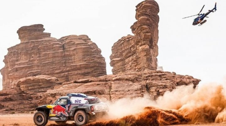 Raliul Dakar a ajuns la final. Stephane Peterhansel a câştigat pentru a 14-a oară competiția