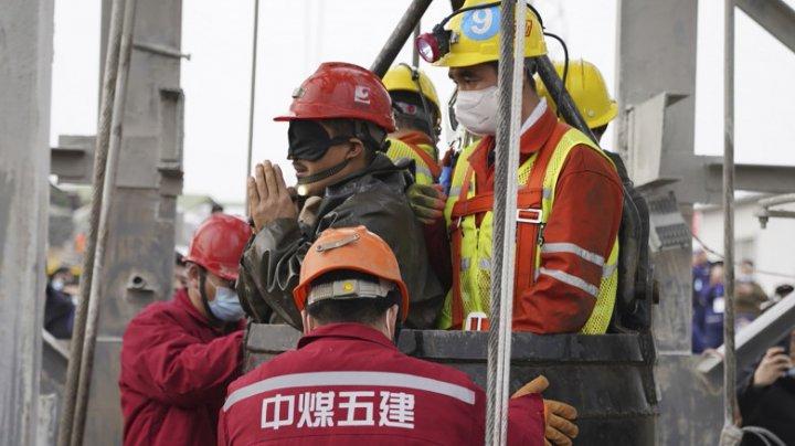 9 mineri au fost găsiți morți după explozia unei mine de aur din China