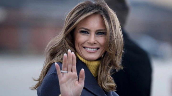 """Melania Trump, ultimul mesaj înainte de a părăsi Casa Albă: """"Mi se pare rușinos că s-au iscat bârfe și acuzații false asupra mea"""""""