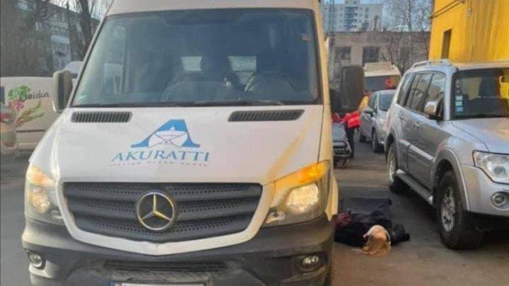 O femeie a fost lovită de o maşină pe o stradă din sectorul Rîşcani al Capitalei