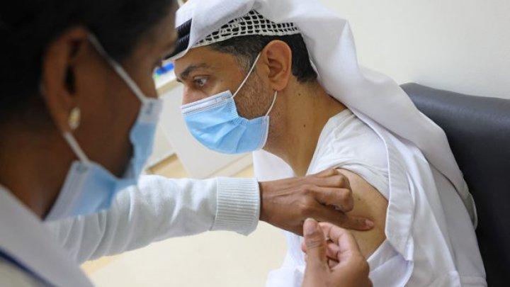 Emiratele Arabe Unite plănuiesc să îşi vaccineze 50% din populaţie, până la sfârşitul lunii martie