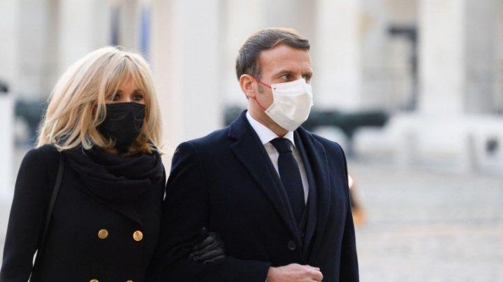 Prima doamnă a Franței, testată pozitiv la COVID-19 la 7 zile după Emmanuel Macron