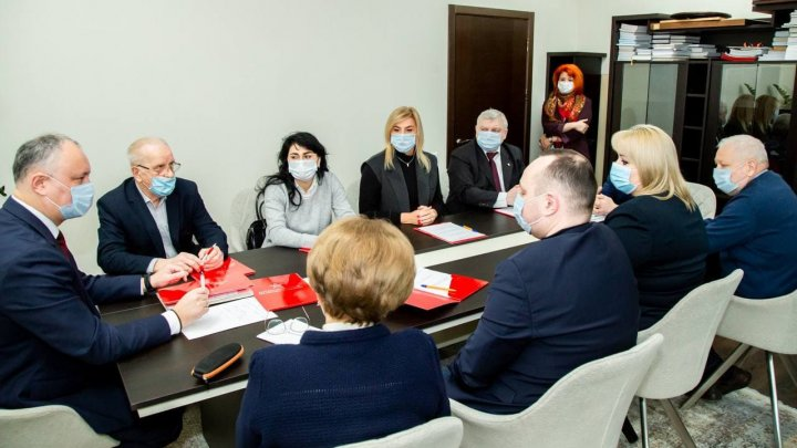 Comitetul executiv al PSRM s-a convocat în şedinţă