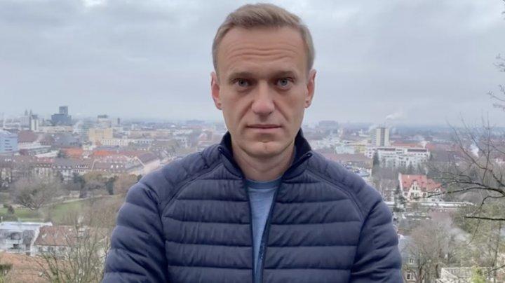 Alexei Navalnîi a fost dat în căutare, imediat ce a anunţat că vine în Rusia
