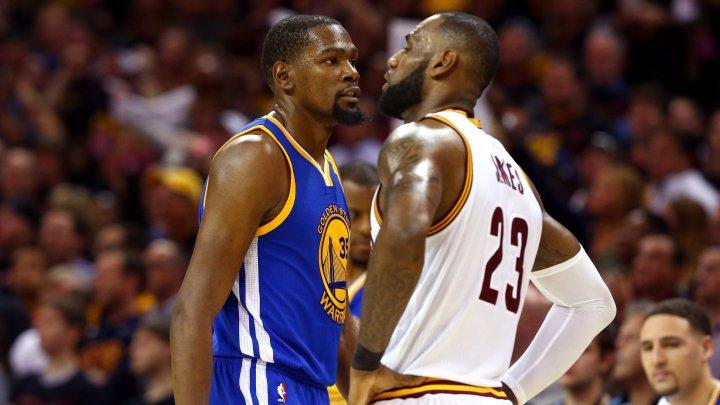 LeBron James şi Kevin Durant vor fi căpitanii celor două echipe la All Star Game NBA