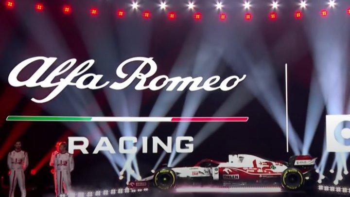 Noul bolid marca Alfa Romeo. Echipa elvețiană și-a prezentat monopostul pentru 2021