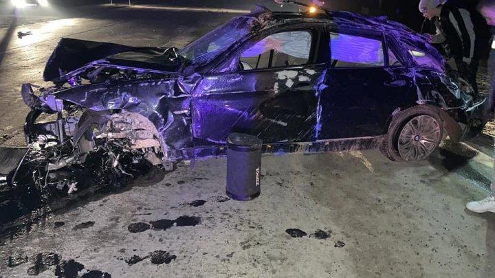 ACCIDENT GRAV pe şoseaua Chişinău-Cimişlia din cauza unui bărbat care a urcat la volan beat şi fără permis de conducere (IMAGINI DE GROAZĂ)