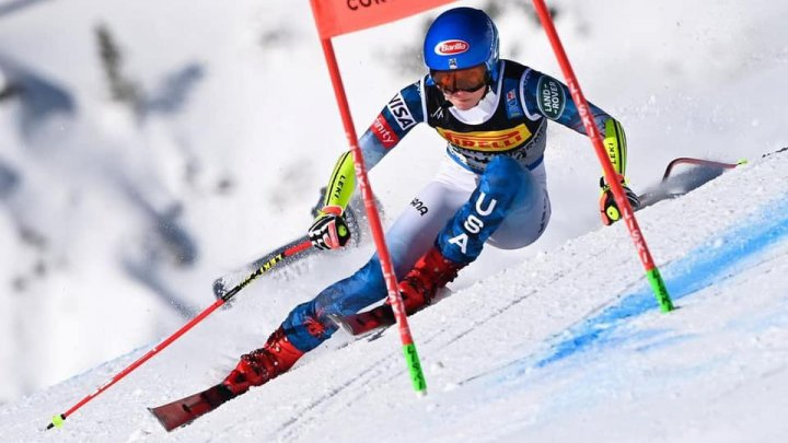 Mikaela Shiffrin a câştigat medalia de aur în proba feminină de slalom super-uriaş din cadrul Campionatelor Mondiale de schi alpin