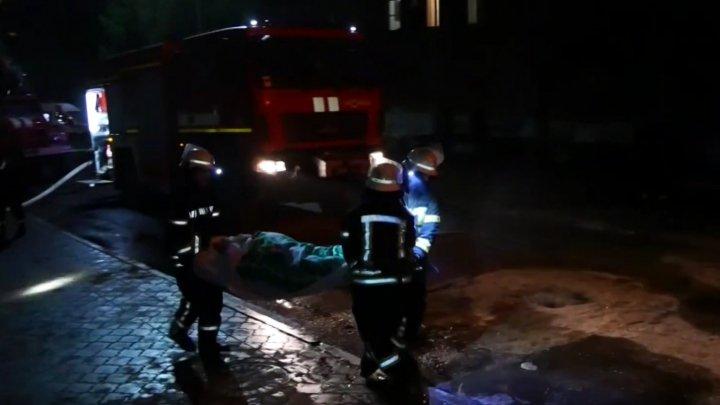 Explozie la un spital din Cernăuţi, în secţia pentru bolnavii de COVID-19. Două persoane au murit