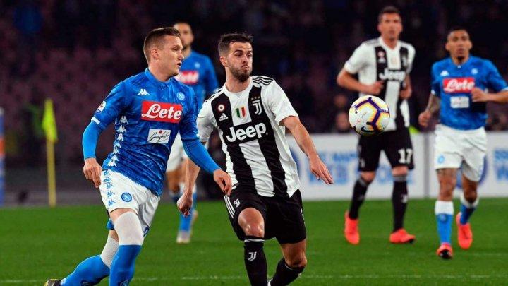 """Juventus Torino a pierdut derbyul etapei a 22-a din Serie A. """"Bătrâna Doamnă"""", învinsă de Napoli"""