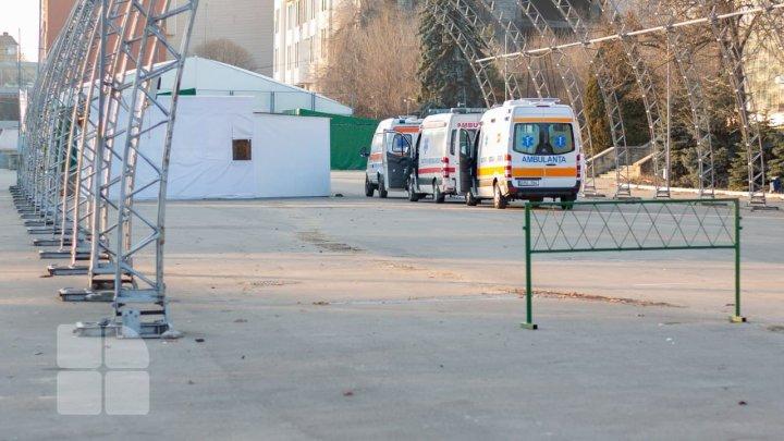 Un echipaj de patrulare ar putea monitoriza permanent traficul rutier pe drumul de acces către Centrul Covid de la Moldexpo