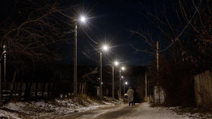 Comuna Vatici din raionul Orhei a fost iluminată integral, la inițiativa lui Ilan Șor