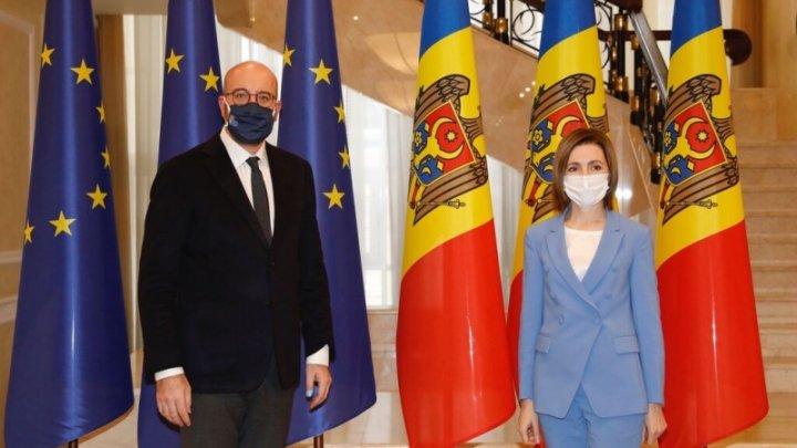 Maia Sandu a cerut sprijinul UE în asigurarea țării cu vaccinul împotriva COVID-19