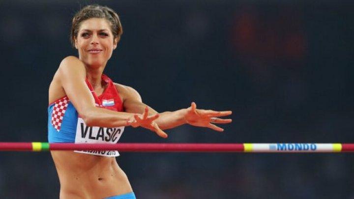 Dubla campioană mondială la săritura în înălţime, Blanka Vlasic, și-a anunțat retragerea din activitatea sportivă