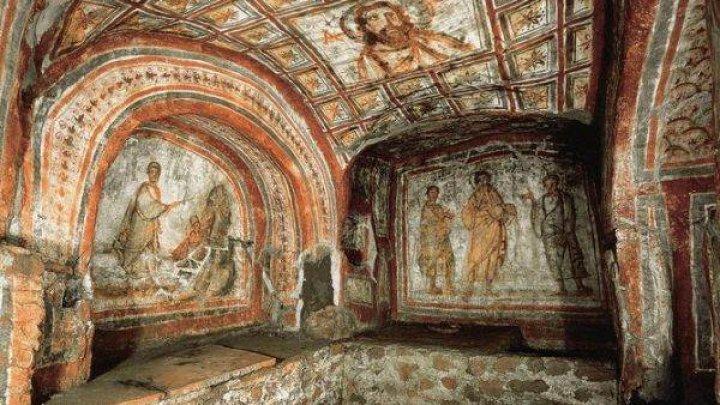Vaticanul doreşte să deschidă publicului catacomba Commodilla