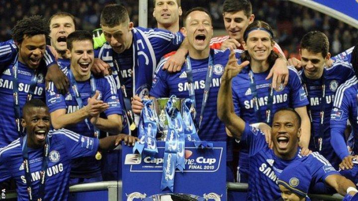 Chelsea Londra au învins cu 2-0 pe Everton, și au ajuns la nouă meciuri fără înfrângere în campionat