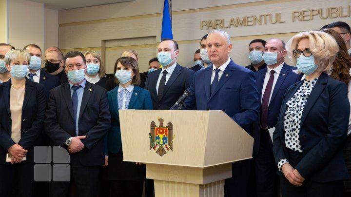 Socialiștii au înaintat un proiect de hotărâre privind dezacordul dizolvării Parlamentului
