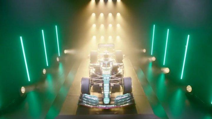Constructorul britanic Aston Martin și-a prezentat primul său bolid de Formula 1 din ultimii 60 de ani