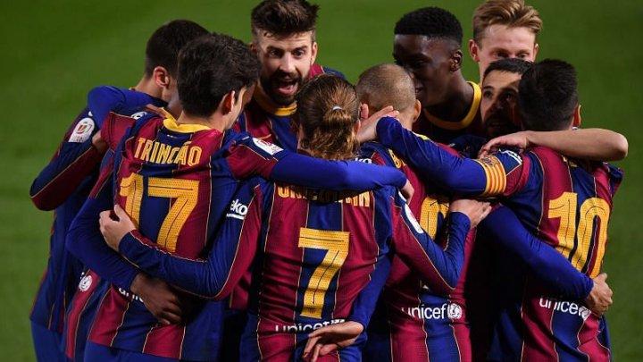 FC Barcelona au învins-o pe FC Sevilla, scor 3-0
