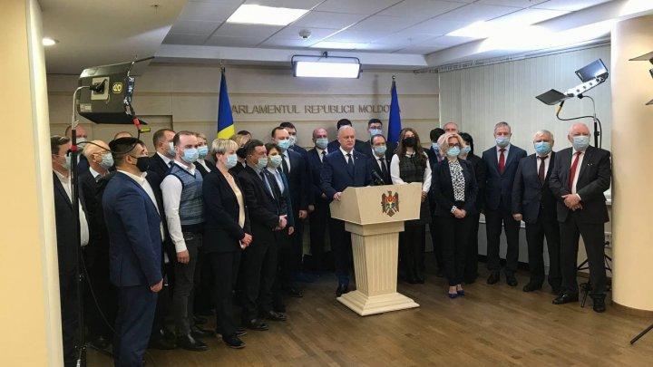 Socialiștii au anunțat că nu vor vota guvernul Grosu. Dodon: PSRM are deja un candidat, nu unul fake ca cel al Maiei Sandu