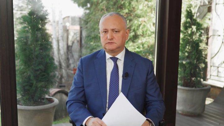Soluţiile de depăşire a crizei politice: Scenariile lui Igor Dodon