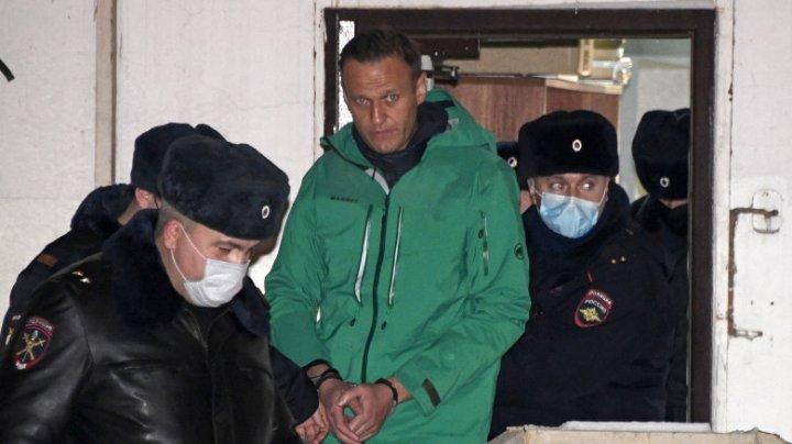 UE impune sancțiuni unor oficiali ruși implicați în procesul lui Alexei Navalnîi