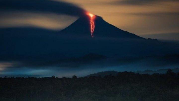 Ecuador: Cenuşa emisă de vulcanul Sangay pune în pericol cinci provincii