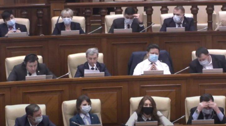 Majoritatea parlamentară din 53 de deputați și-a reiterat sprijinul pentru Golovatiuc