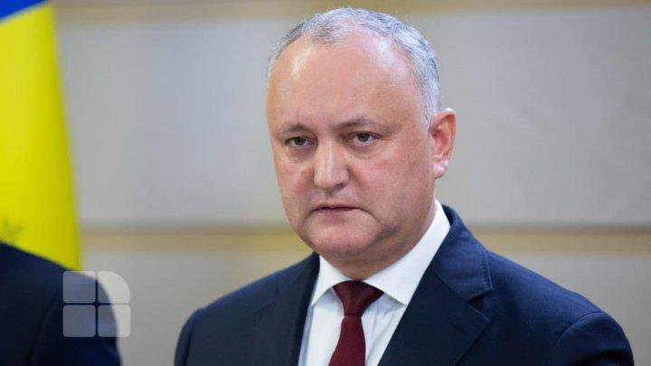 Reacția lui Igor Dodon după decizia de azi a CC: Curtea practic a săvărșit azi o lovitură constituțională