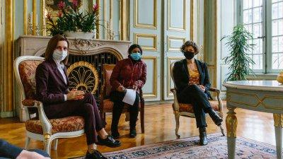 Președintele Maia Sandu s-a întâlnit cu primarul orașului Strasbourg, Jeanne Barseghian. Subiectele discutate