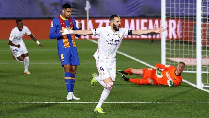 Real Madrid și-a învins rivala de moarte FC Barcelona
