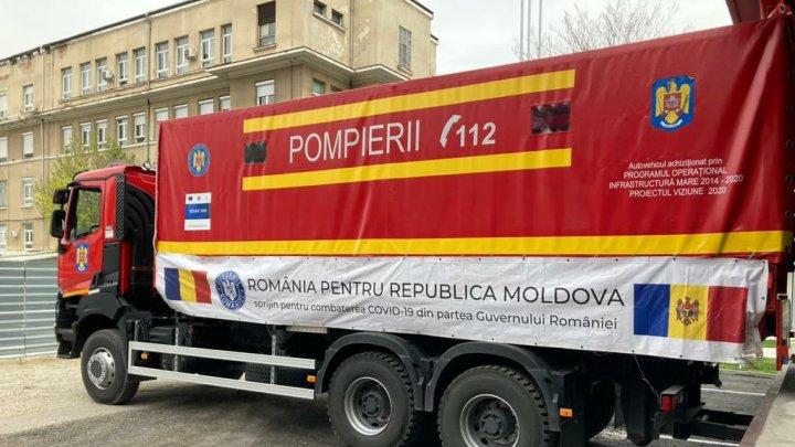 Lotul de 132 de mii de doze de vaccin anti-COVID-19, donat de România, în drum spre Chișinău