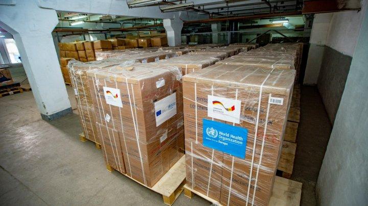 Germania și OMS au donat sistemului de sănătate din Republica Moldova 300 concentratoare de oxigen