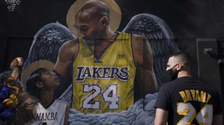 Legendele nu se uită! Regretatul baschetbalist Kobe Bryant va fi inclus în Hall of Fame
