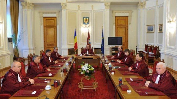 Curtea Constituțională a României, solidară cu magistrații constituționali din Republica Moldova