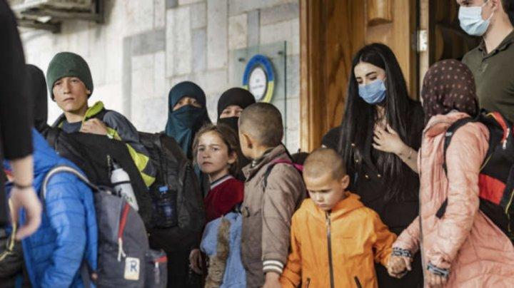 Siria: Peste 30 de orfani de jihadişti au fost preluaţi de o delegaţie rusă de la autorităţile kurde