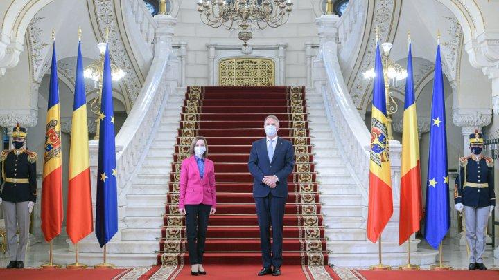 Întrevederea Președintelui României, Klaus Iohannis, cu Președintele Republicii Moldova, Maia Sandu