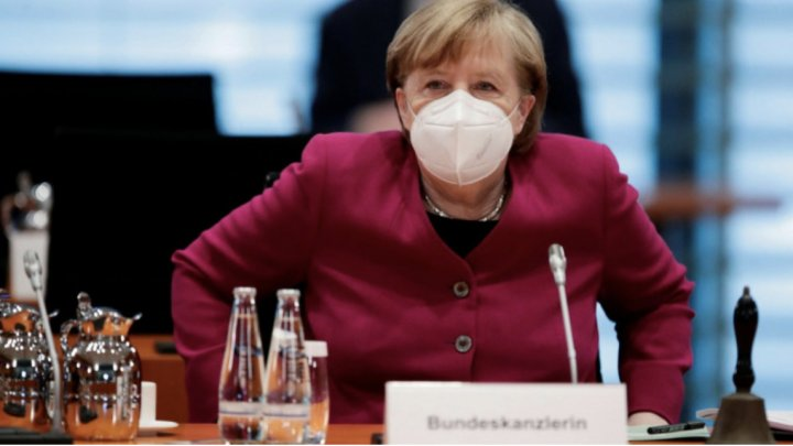 "Germania Angela Merkel susține un lockdown ""scurt și dur"" la nivel național în Germania"