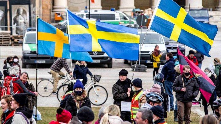 Suedia are cele mai multe cazuri noi de COVID-19 pe cap de locuitor din Europa