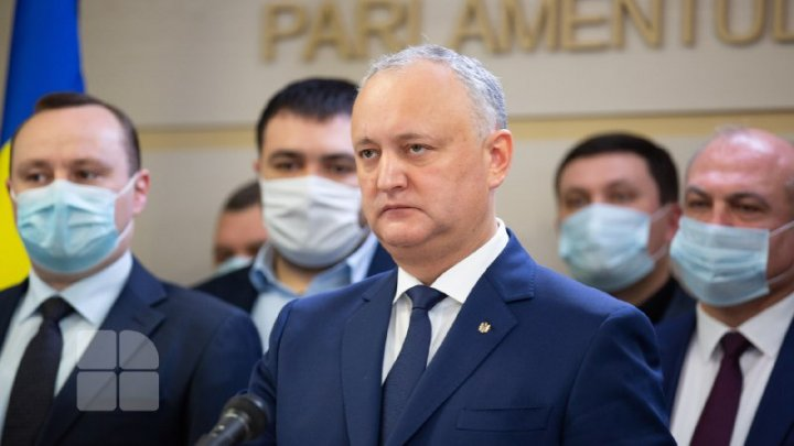 REACȚIA lui Igor Dodon, după ce CC a declarat neconstituțională hotărârea privind revocarea Domnicăi Manole