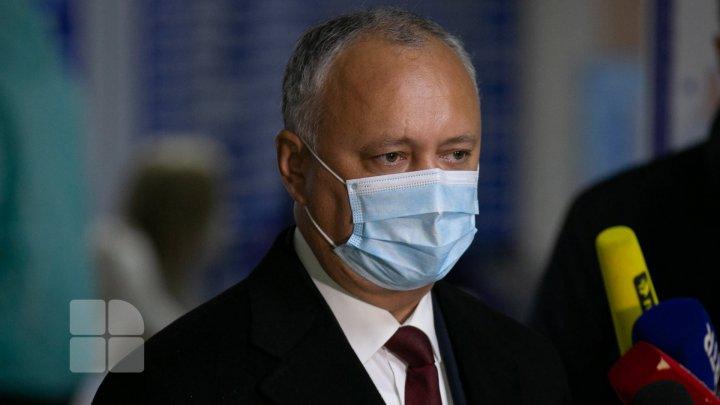 """Dodon: """"PSRM este pregătit pentru alegeri anticipate oricând, însă țara - NU"""""""